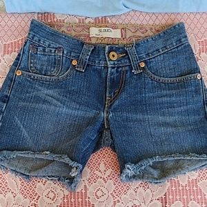 Junior's Levi's 504 Slouch jean Shorts sz. 3
